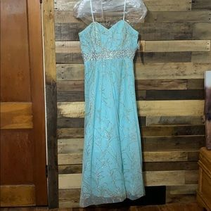 David's Bridal Formal Gown Dress Size 16
